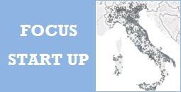 On line la datavisualization delle startup innovative in Italia