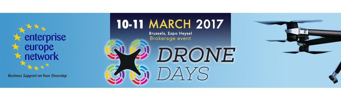 A Bruxelles Drone Days Matchmaking event. Iscrizioni aperte fino al 27 febbraio