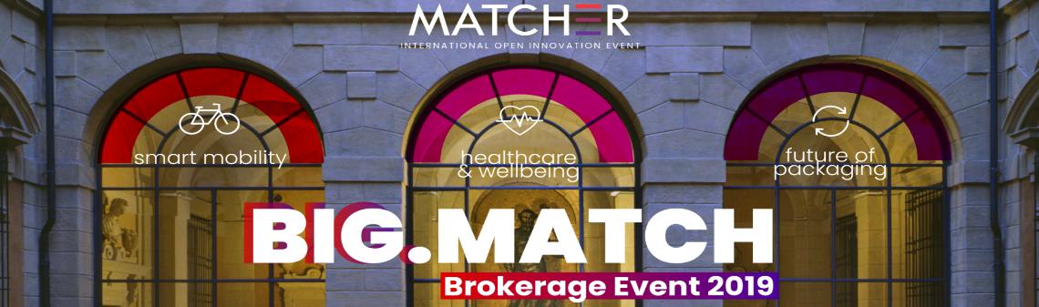 BIG.MATCH Brokerage event 2019