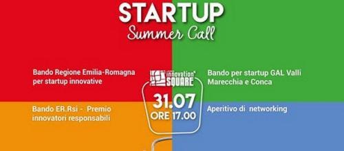 STARTUP Summer call
