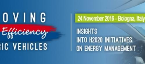 Improving Energy Efficiency in Electric Vehicles: presentations are now available
