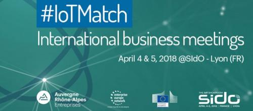 IoT Match International brokerage event 2018
