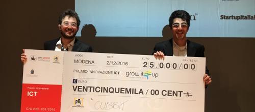 Cubbit vince il Premio Nazionale Innovazione