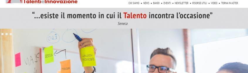 Emilia-Romagna Talenti e Innovazione Web Portal