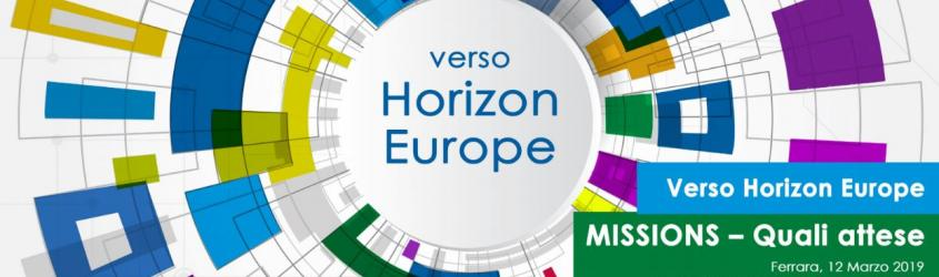 Verso Horizon Europe. Missions - Quali attese