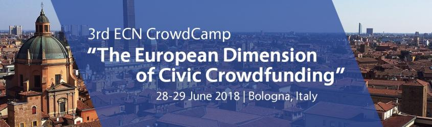 3rd ECN CrowdCamp - The European Dimension of Civic Crowdfunding