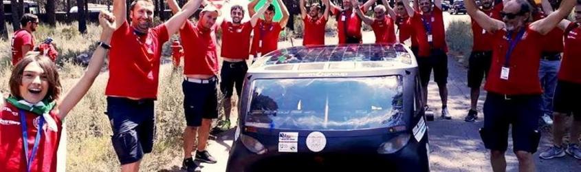 Emilia 4, l'auto solare dell'università di Bologna consuma quanto un asciugacapelli e vince