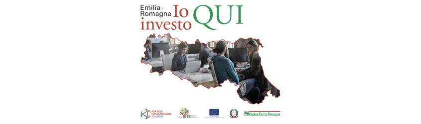 L'Emilia-Romagna, un territorio, tante opportunità. #IOINVESTOQUI