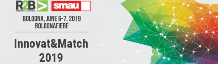 Aperte le iscrizioni all'evento di matching Innovat&Match 2019