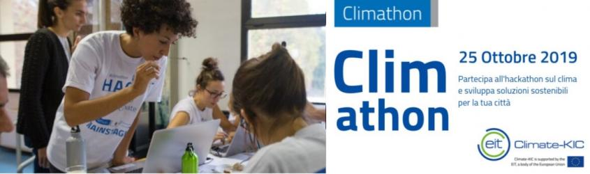 Climathon V edizione: iscrizioni aperte fino al 10 ottobre!