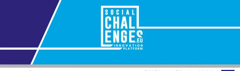 Al via ultimi progetti della Social Challenge Innovation Platform