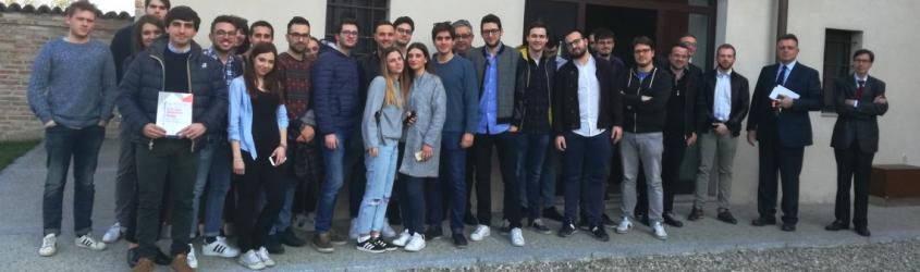 50 studenti dell'Università Cattolica, in visita al Tecnopolo di Piacenza
