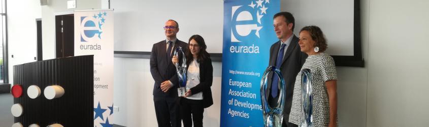 ASTER premiata da EURADA per la miglior pratica di trasferimento tecnologico