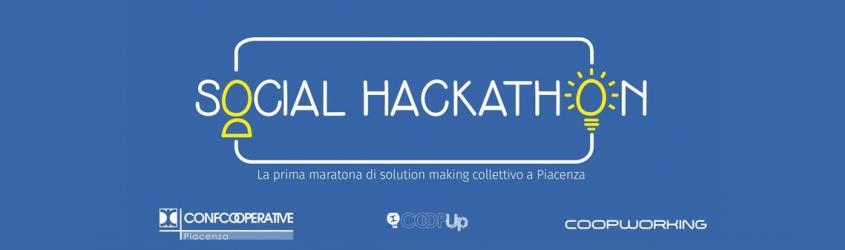 Social Hackathon - la prima maratona di solution making collettivo a Piacenza