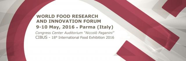 World Food Research and Innovation Forum - Registrati